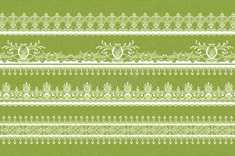 Download Lace Border stock vector. Image of frame, decorative - 21893931