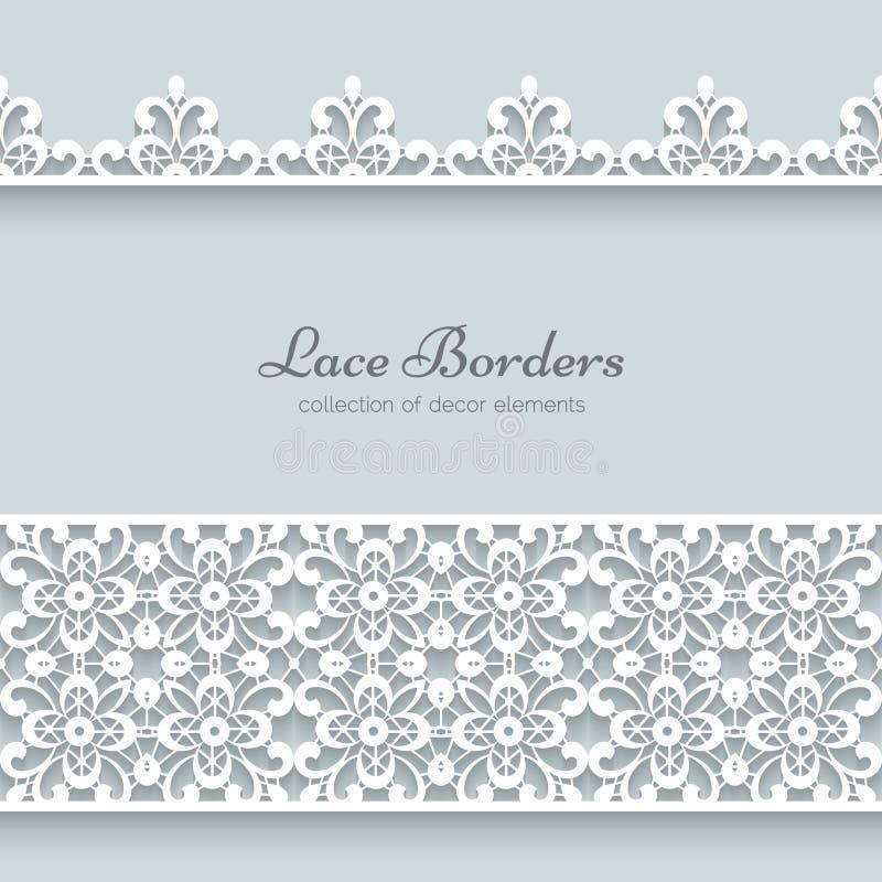 Free Lace Borders Stock Photo - 40963750