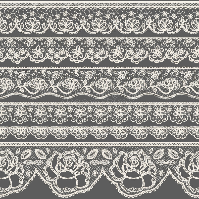 Free Lace Borders Stock Image - 52815851