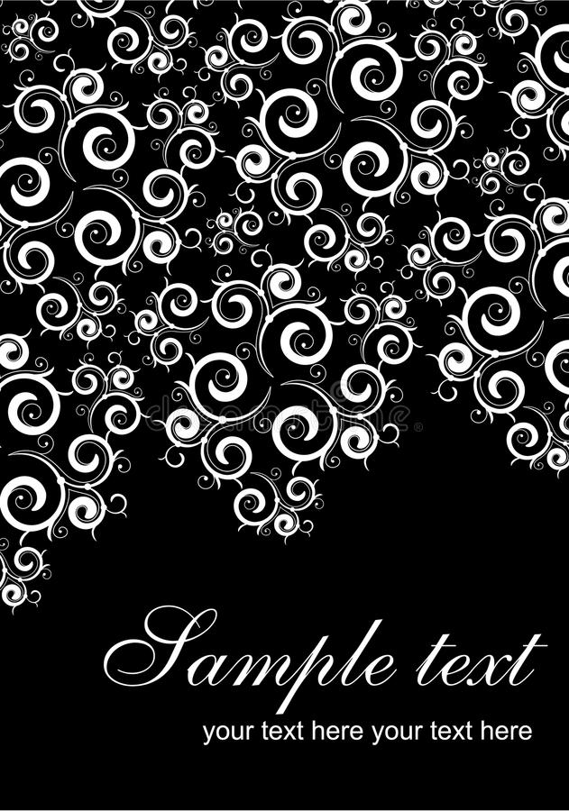 Lace card background stock images