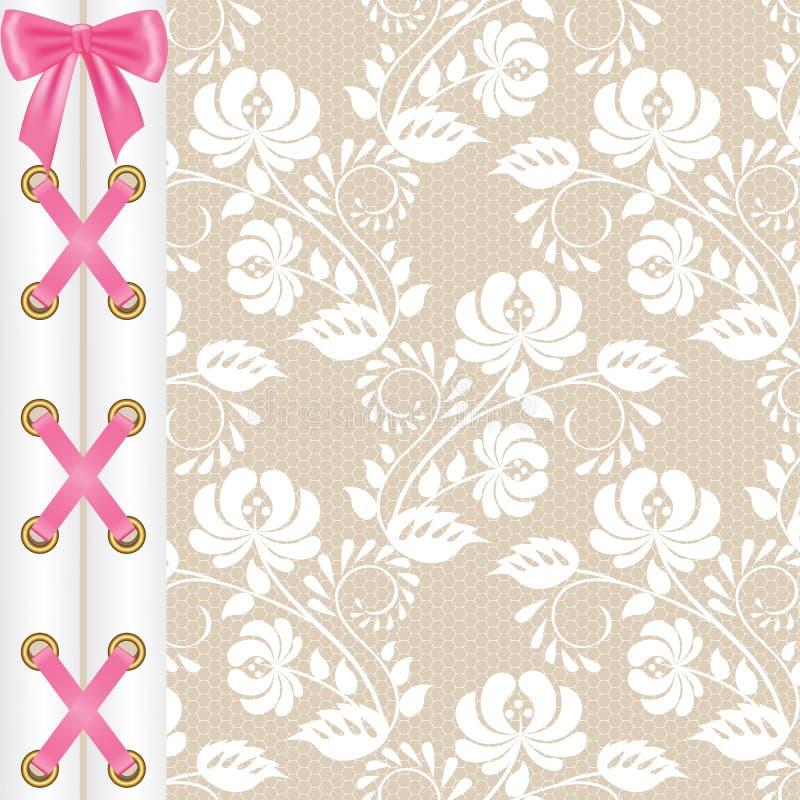 valentine corset stock vector  illustration of fashion