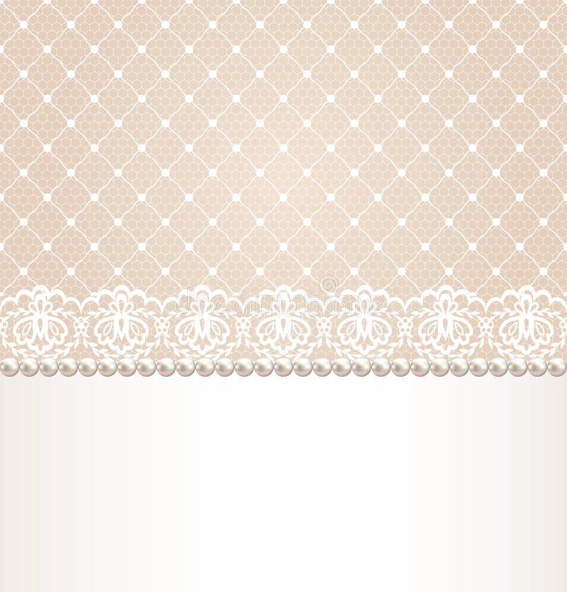 Free Lace Floral Border Stock Images - 31821704