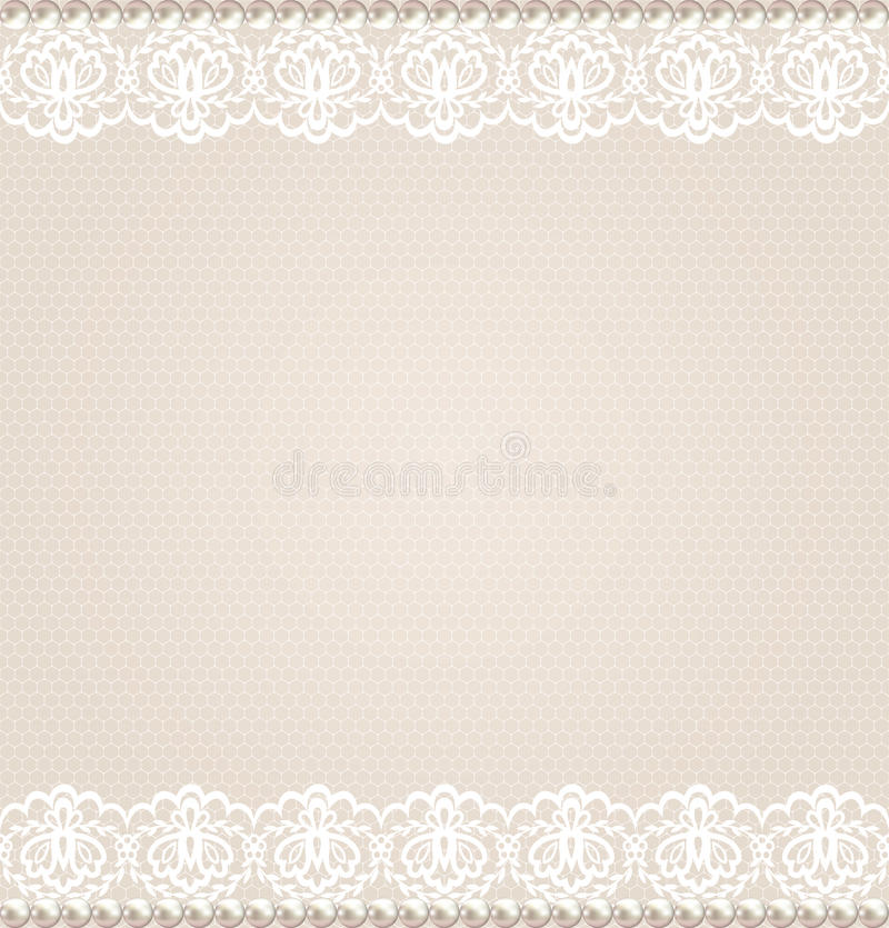 Lace floral border stock vector illustration of white for Border lace glam