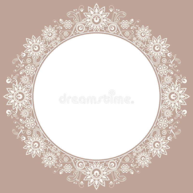 Free Lace Frame Stock Photo - 24906100