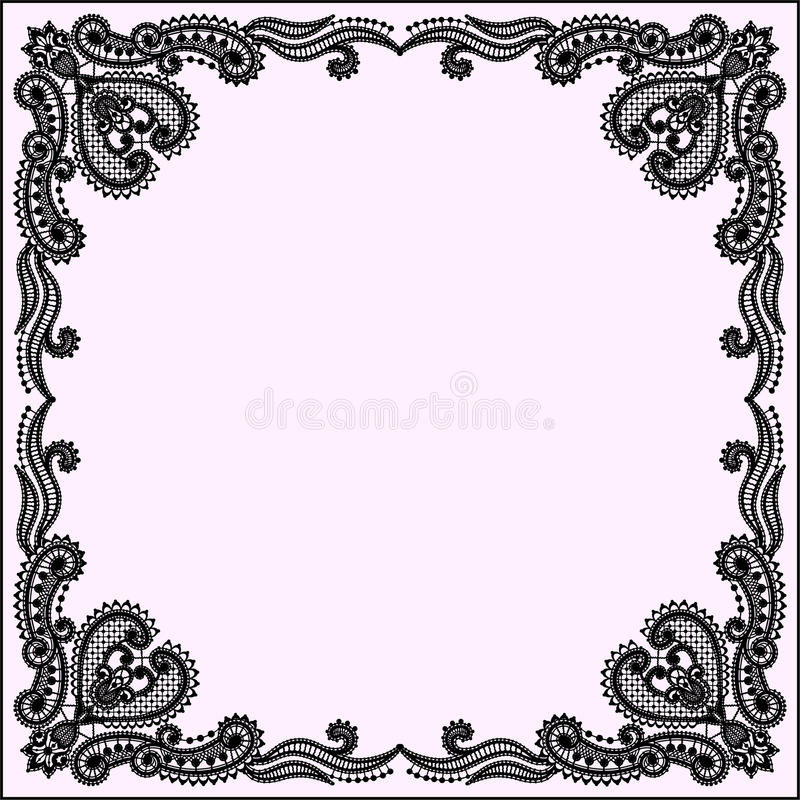 lace frame lace vector background stock vector illustration of rh dreamstime com lace vector pattern lace vector background