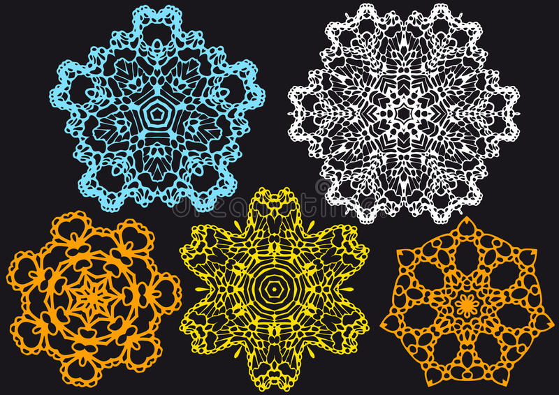Download Lace pattern, stock vector. Illustration of artwork, kaleidoscopic - 13153242