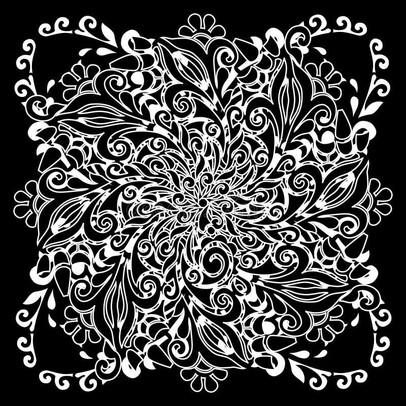 Lace pattern royalty free illustration