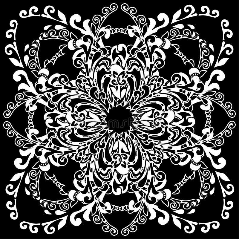 Lace pattern stock illustration