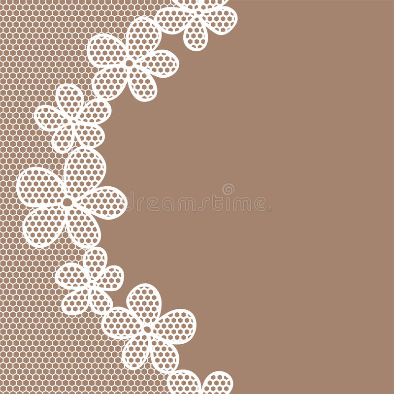 Lace Pattern Background Stock Images