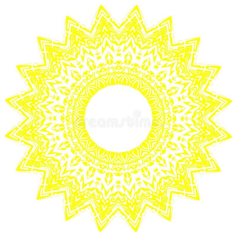 Lace pattern. A lace pattern on white background vector illustration