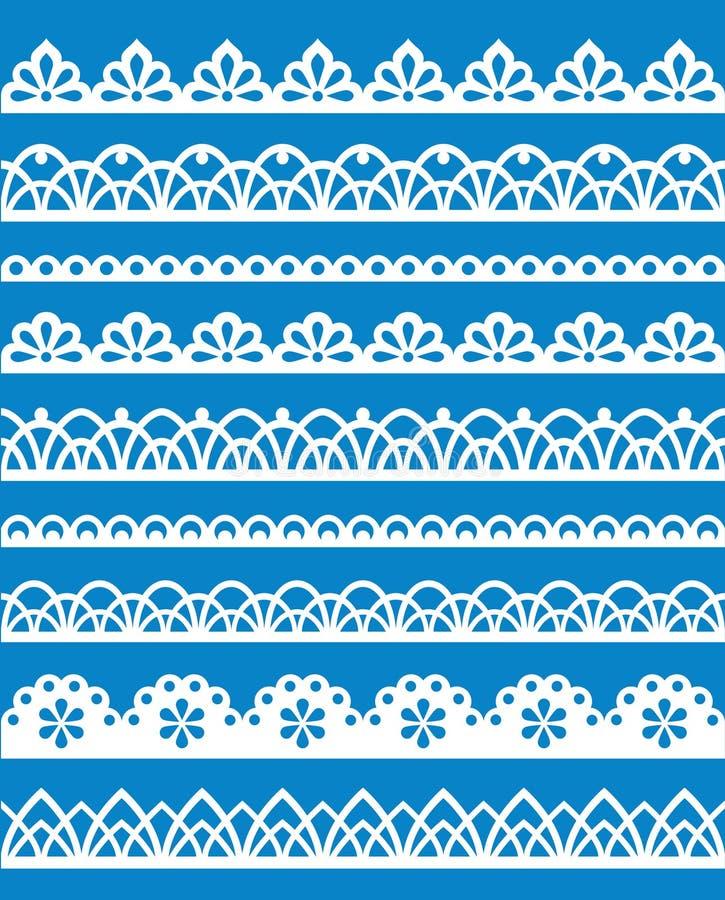 Lace Patterns Stock Image