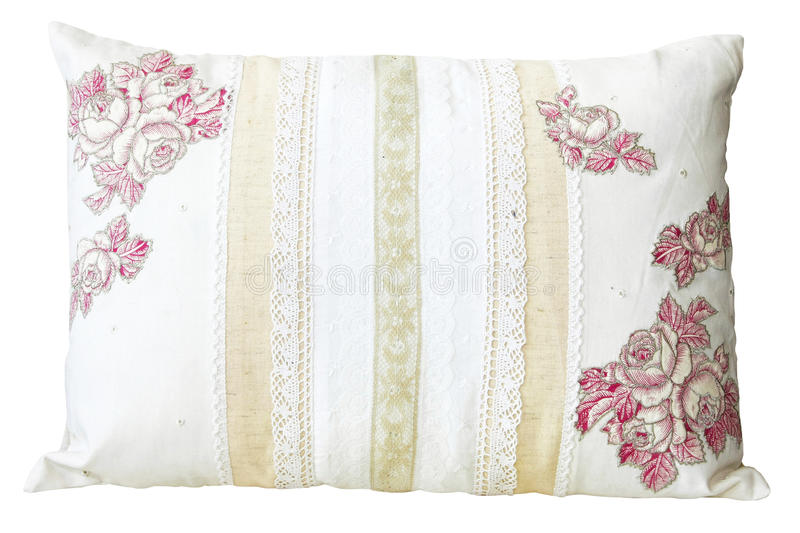 Download Lace Pillow Royalty Free Stock Image - Image: 12249726
