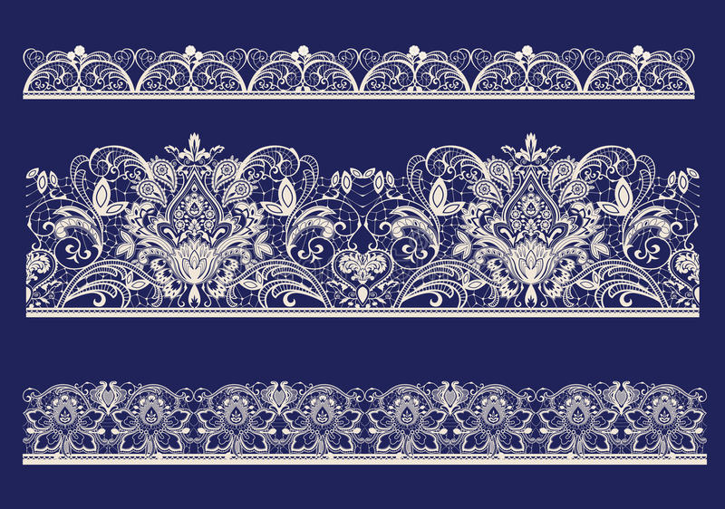 Lace. Raster version of illustration