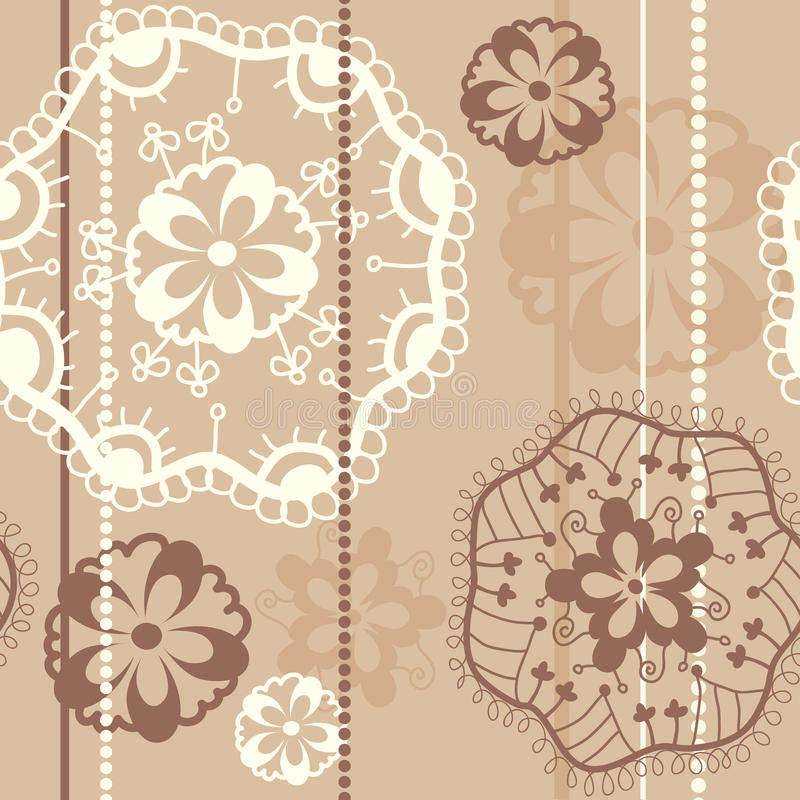 Download Lace seamless pattern stock vector. Illustration of symbol - 10613818