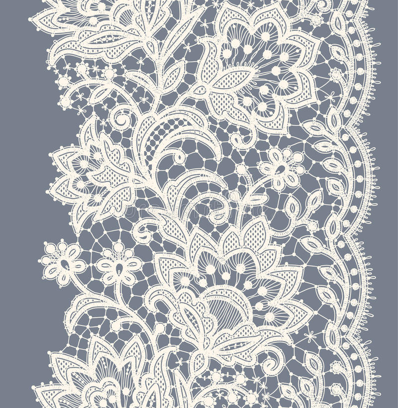 Free Lace Seamless Pattern. Stock Images - 54878964