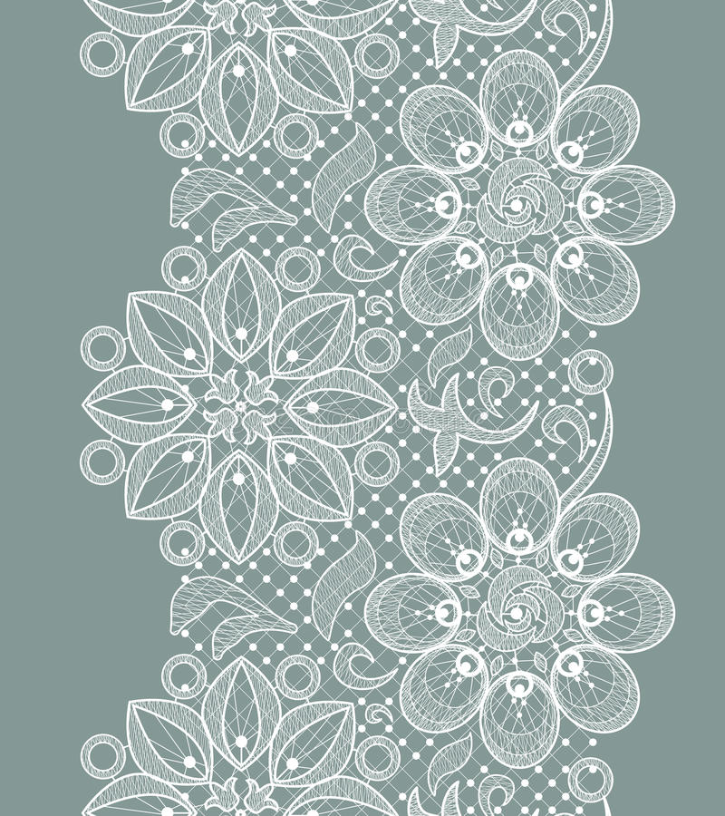 Download Lace Seamless Pattern stock vector. Illustration of floral - 33545732
