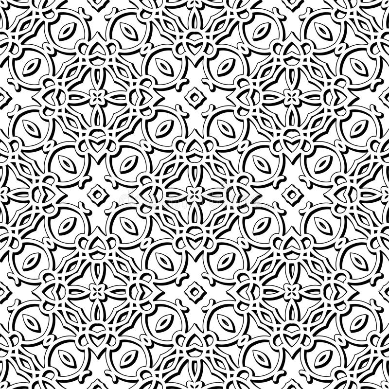 Lace texture. Vintage lace texture, seamless pattern royalty free illustration
