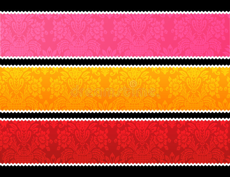Download Lace Trim Banners Stock Images - Image: 15051334