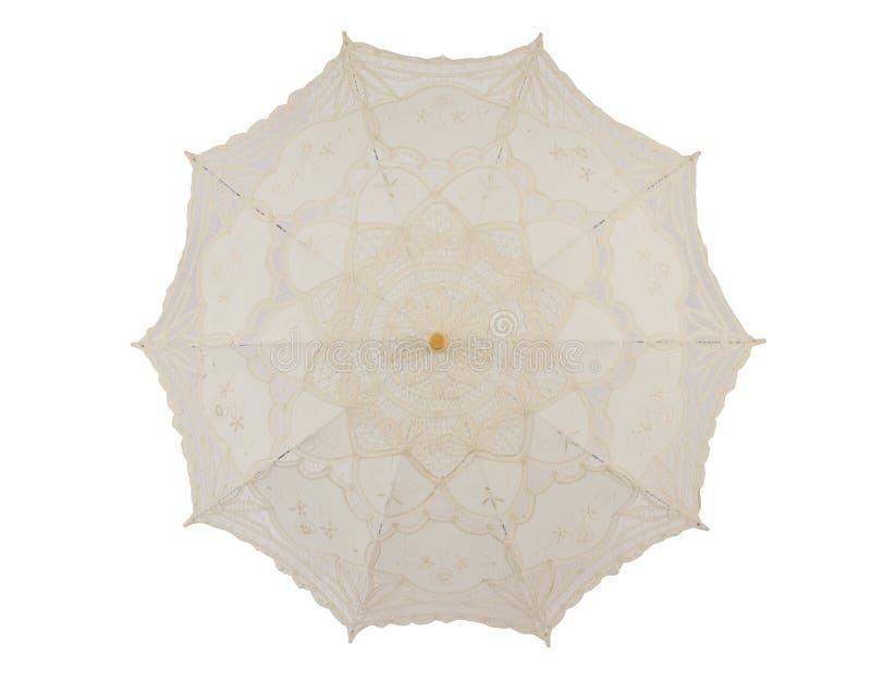 Lace umbrella stock photos