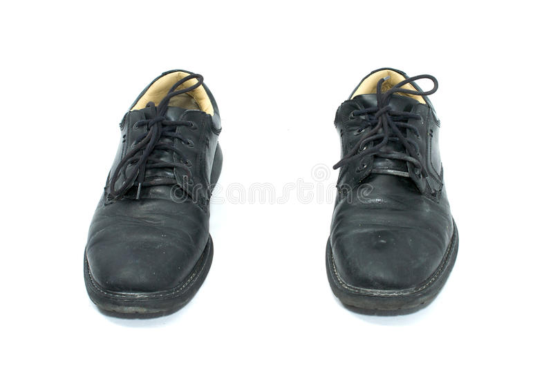Download Lace up shoes from front stock image. Image of space - 14249275
