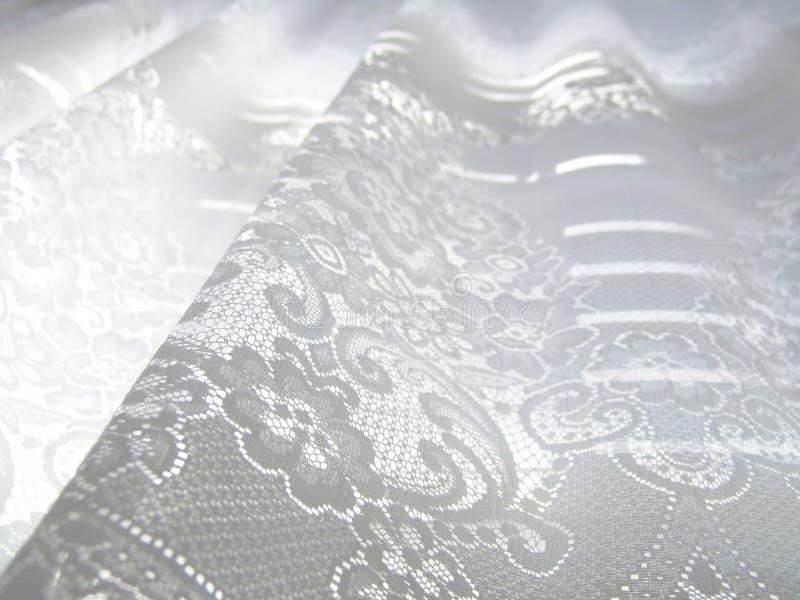 Lacet blanc image stock