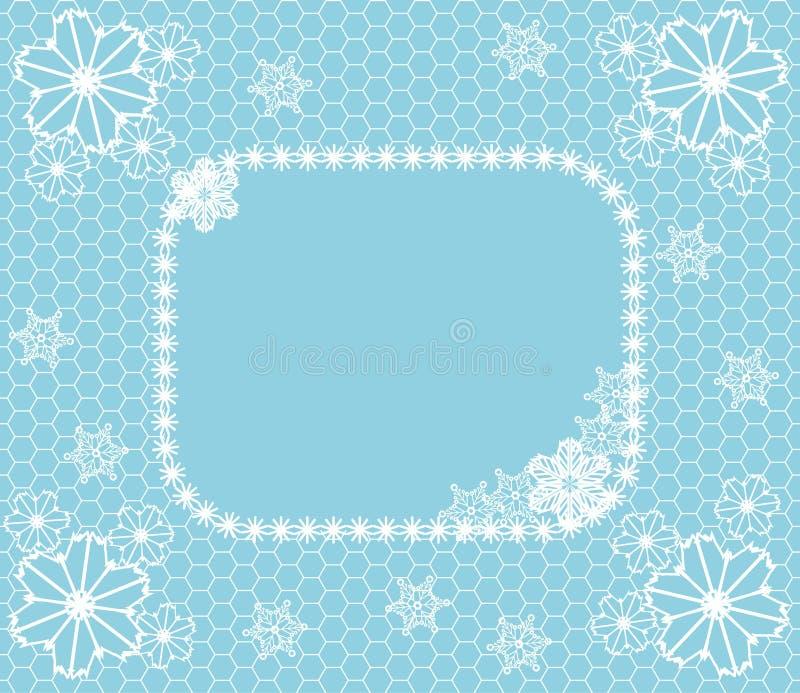 Lacet de l'hiver illustration de vecteur