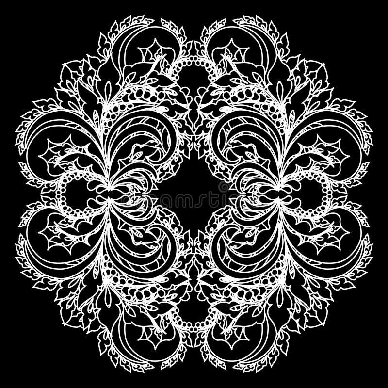 Lacet de vecteur illustration de vecteur