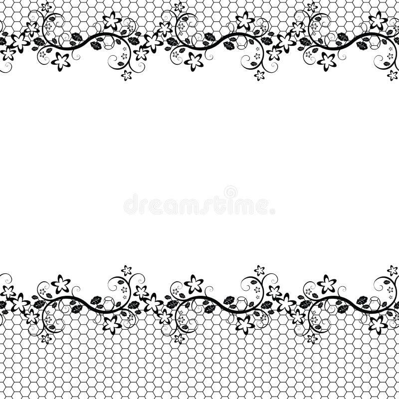 Lacet. fond sans joint illustration stock