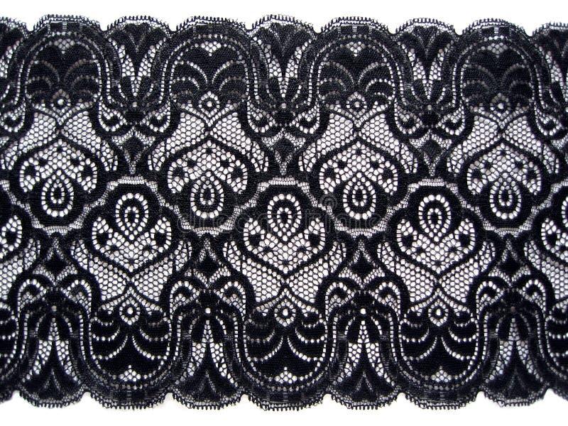 Lacet noir illustration de vecteur