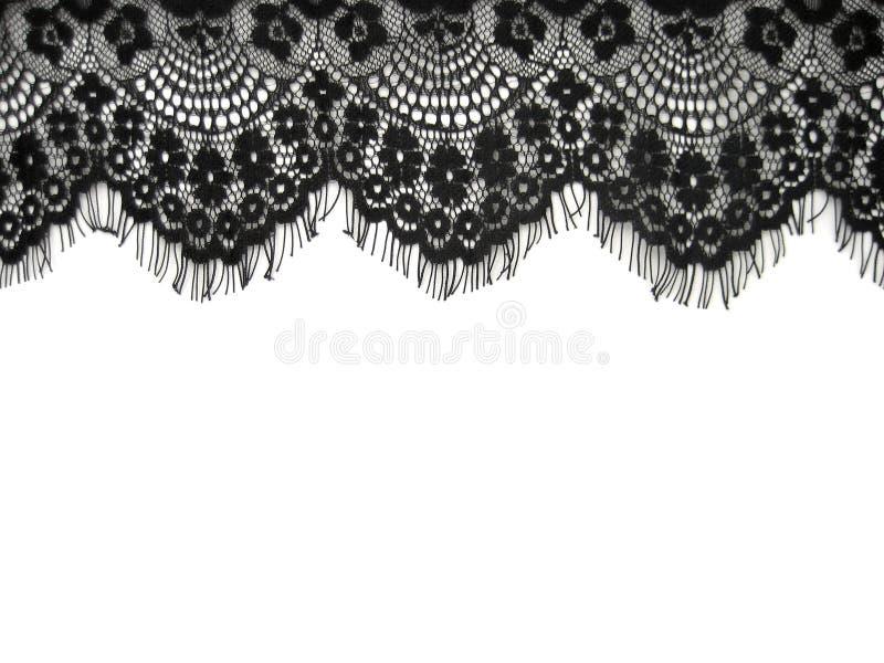 Lacet noir image libre de droits