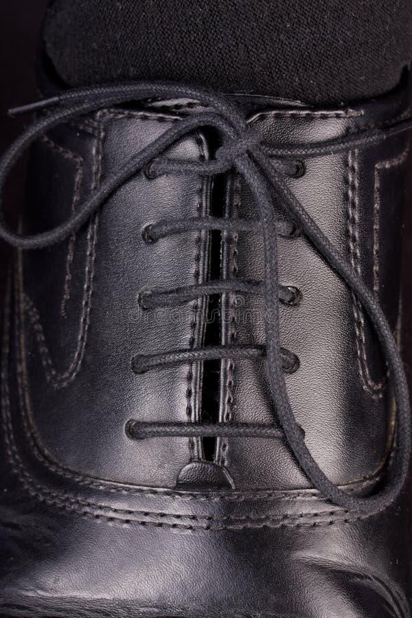 Lacets de chaussure photos libres de droits
