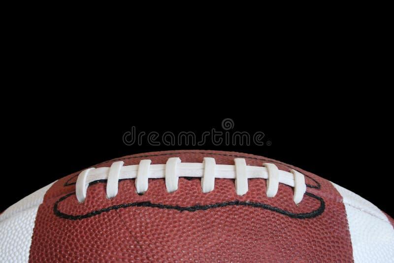 Lacets du football photo libre de droits