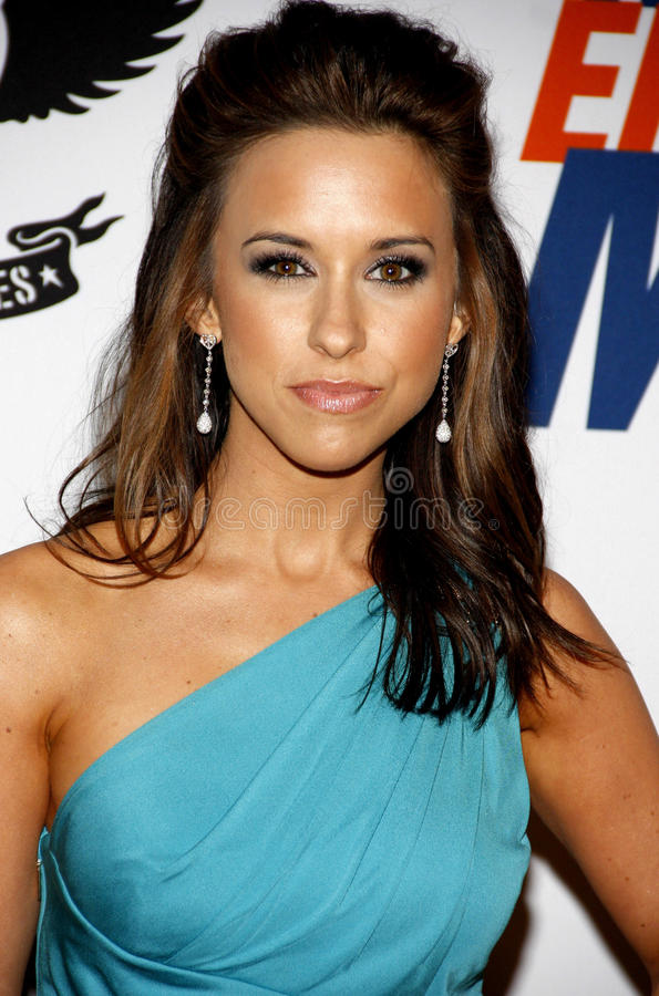 Lacey Chabert royalty-vrije stock afbeelding