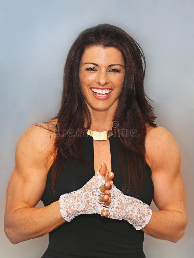 Lacey, Luscious and Buff stock images