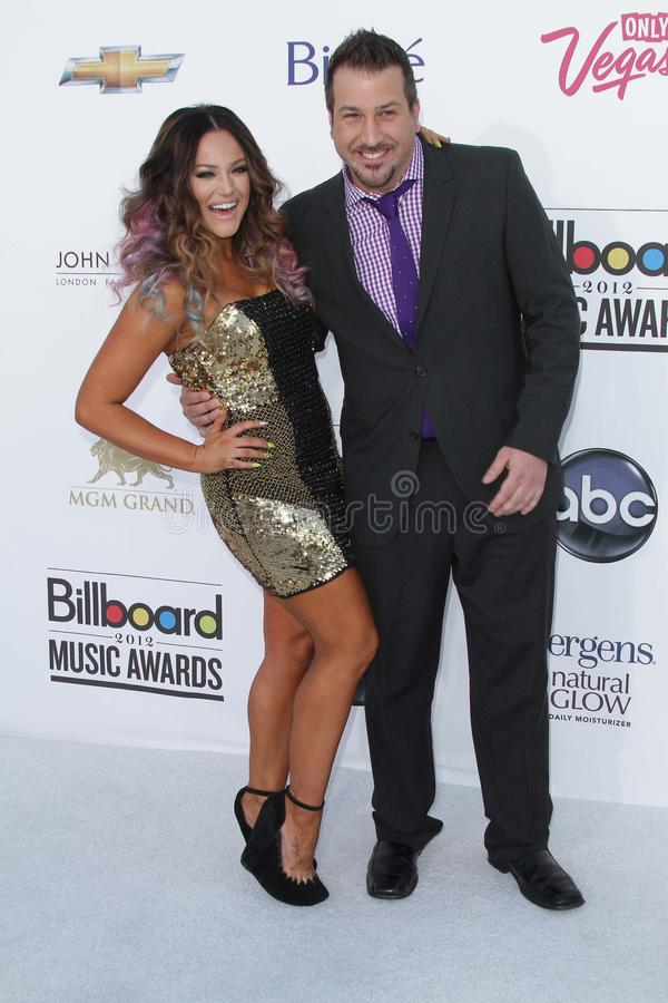 Download Lacey Schwimmer And Joey Fatone At The 2012 Billboard Music Awards Arrivals, MGM Grand, Las Vegas, NV 05-20-12 Editorial Stock Photo - Image: 25180833