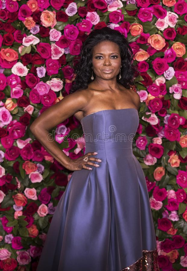 LaChanze en Tony Awards 2018 imagenes de archivo