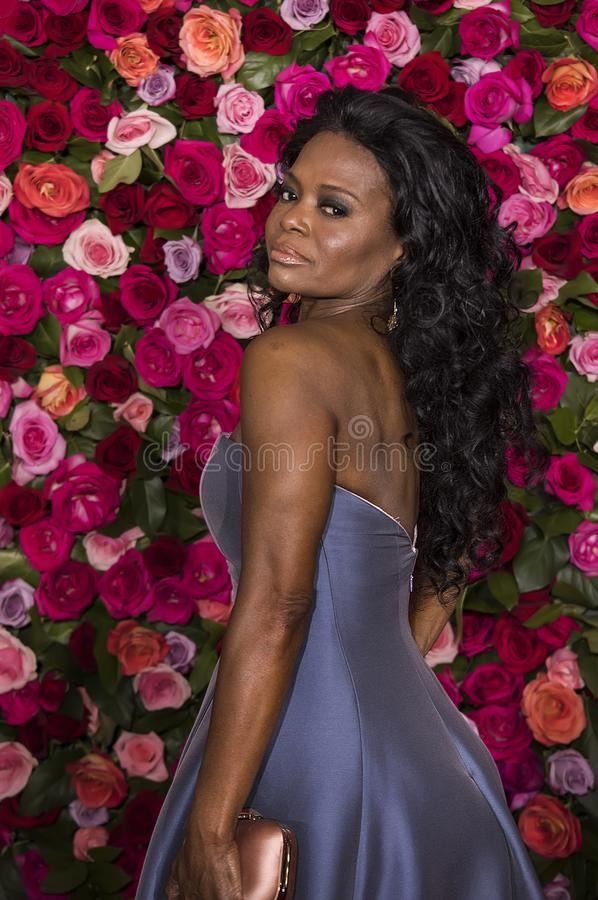 LaChanze en Tony Awards 2018 foto de archivo libre de regalías
