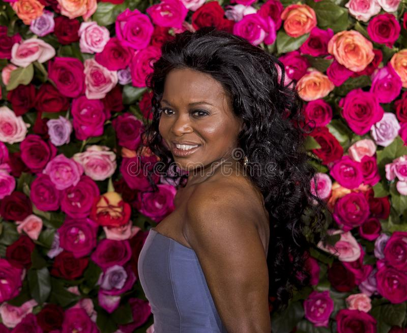 LaChanze en Tony Awards 2018 fotografía de archivo