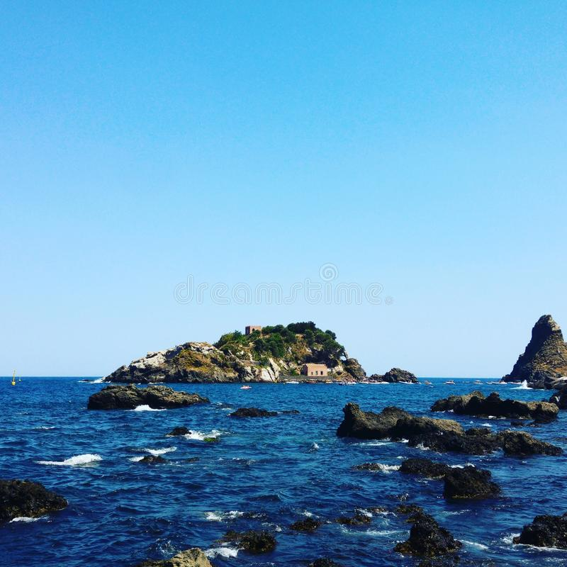 Lachea Isola стоковое изображение