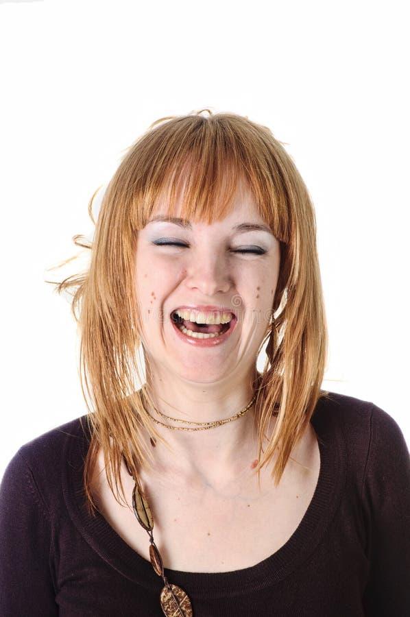 Lachendes Mädchen stockfotografie