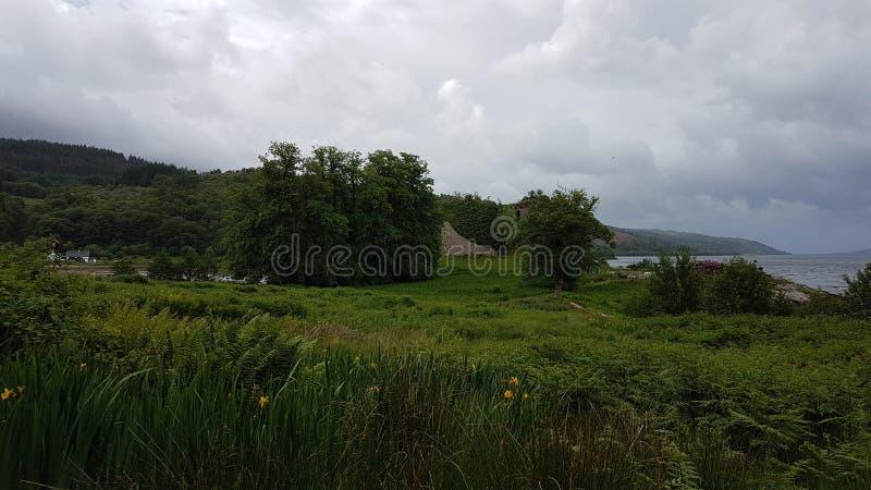 Lachlan φρούριο του Castle στοκ φωτογραφία