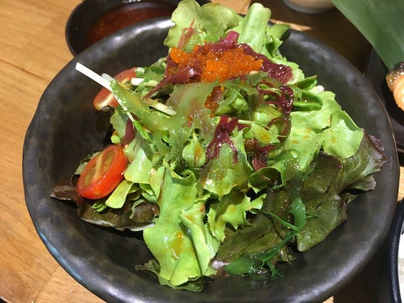 Lachs-Japan-Nahrung stockfotos