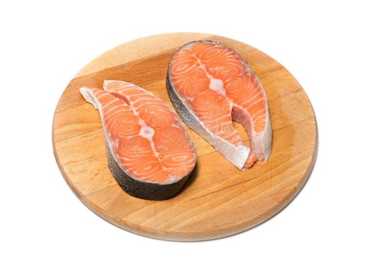 Lachse der frischen Fische lizenzfreies stockfoto