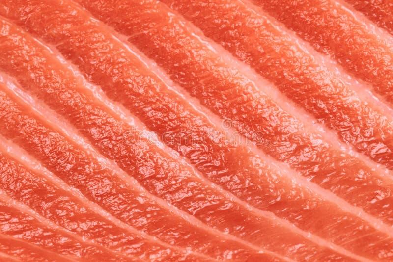 Lachsfischfleischbeschaffenheit lizenzfreie stockfotografie