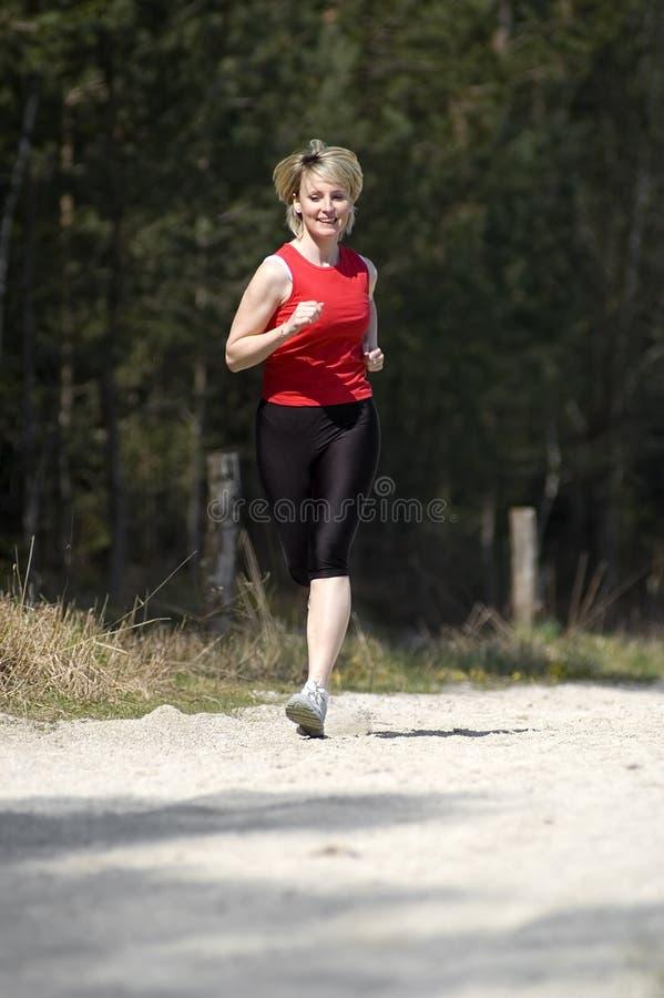 Lack-Läufer lizenzfreie stockbilder