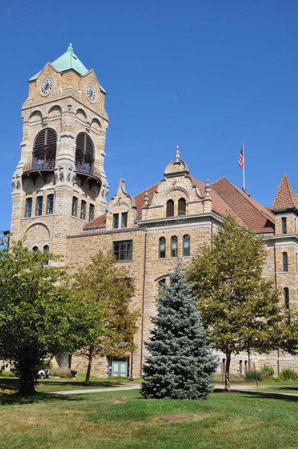 Lackawanna County Courthouse in Scranton, Pennsylvania. Lackawanna County Courthouse in downtown Scranton, Pennsylvania stock images
