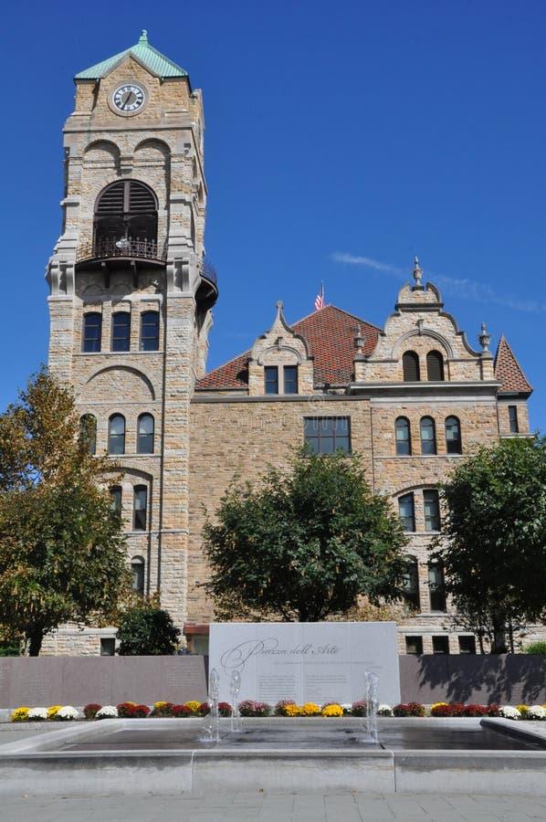 Lackawanna County Gericht in Scranton, Pennsylvania lizenzfreies stockfoto
