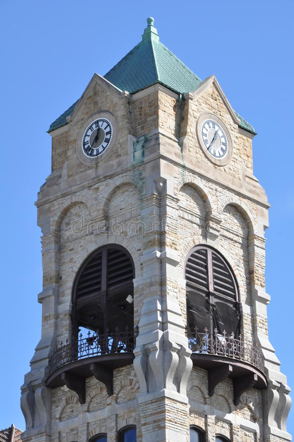 Lackawanna County Gericht in Scranton, Pennsylvania lizenzfreie stockfotos