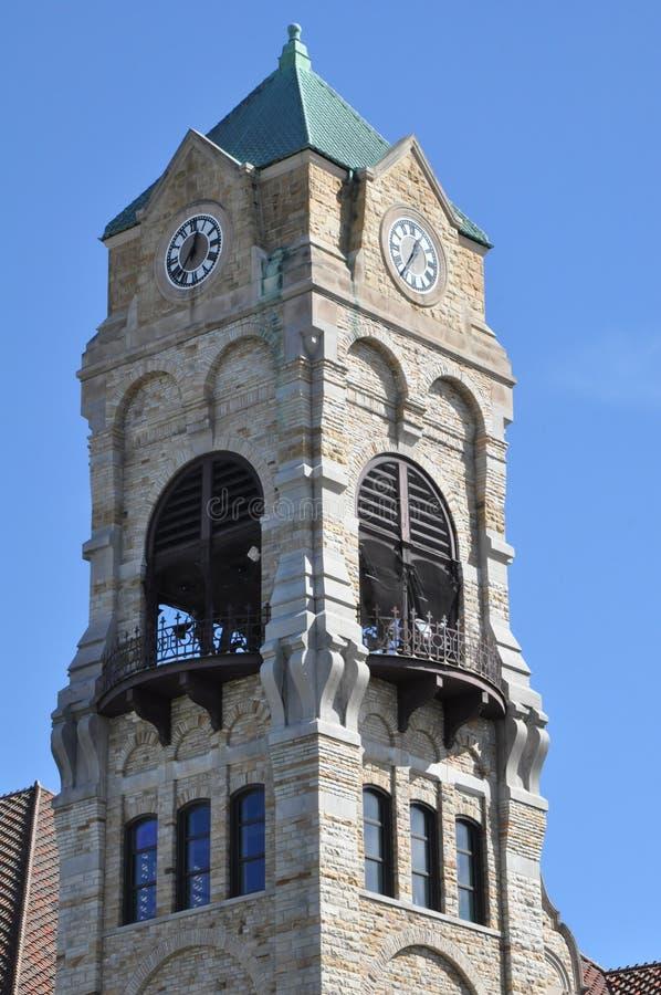 Lackawanna County Gericht in Scranton, Pennsylvania stockfotografie