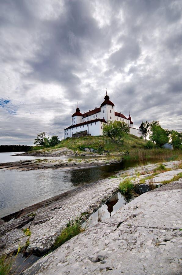 Lacko城堡在瑞典 免版税库存图片